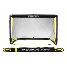 BazookaGoal 150x90 összecsukható kapu fekete hálóval