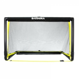 BazookaGoal 120x75 összecsukható kapu fekete hálóval