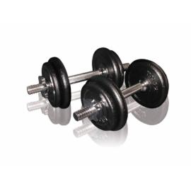 Egykezes súlyzókészlet (1,5kg x 2 + 2,5kg x 2 + egykezes rúd )