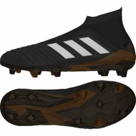 Adidas Predator 18+ FG Felnőtt stoplis cipő - fekete-piros-fehér