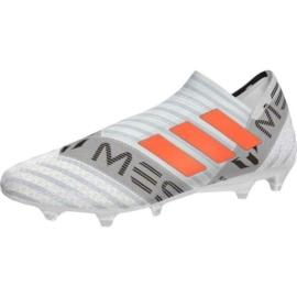 Adidas Nemeziz Messi 17+ 360 Agility Férfi Stoplis Focicipő - fehér-narancssárga-fekete