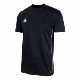 Adidas Core 18 férfi edzőpóló - fekete