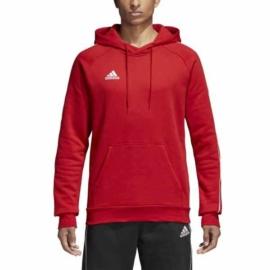 Adidas Core 18 kapucnis Férfi melegítő felső - piros