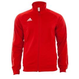 Adidas Core 18 PES  Férfi melegítő felső - piros