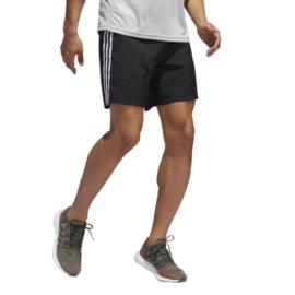 ADIDAS RUN IT SHORT 3S fekete rövidnadrág férfi
