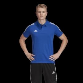 ED9237 Adidas Condivo 20 galléros póló kék felnőtt