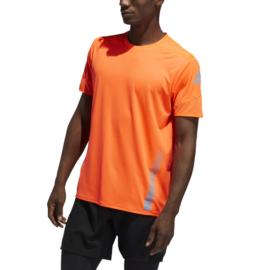 ADIDAS 25/7 TEE RUNR narancssárga póló