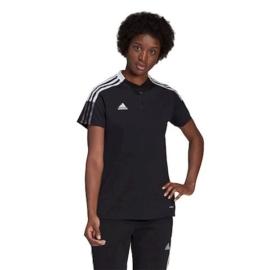 GM7352 Adidas Tiro 21 fekete póló női