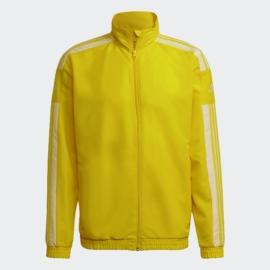 GP6448 Adidas Squadra 21 melegítő kabát citrom