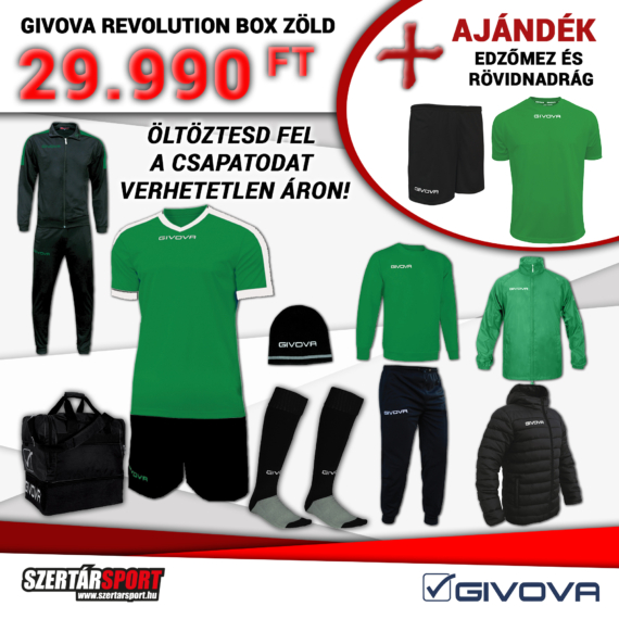Givova Revolution Box zöld