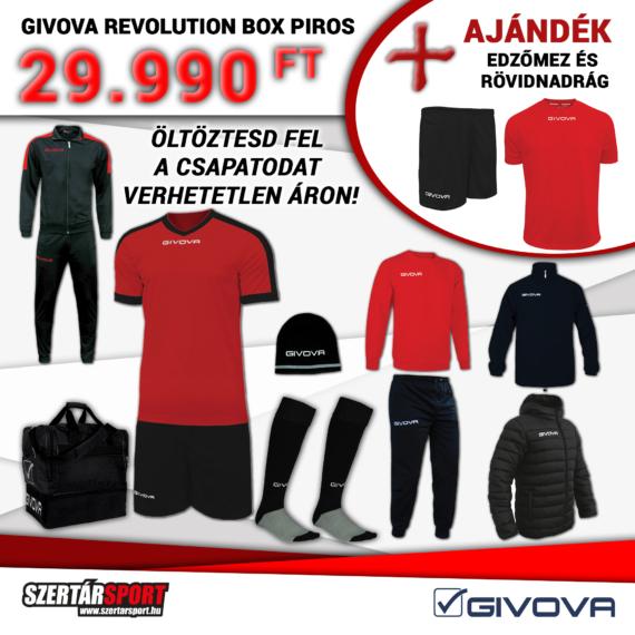 Givova Revolution Box piros