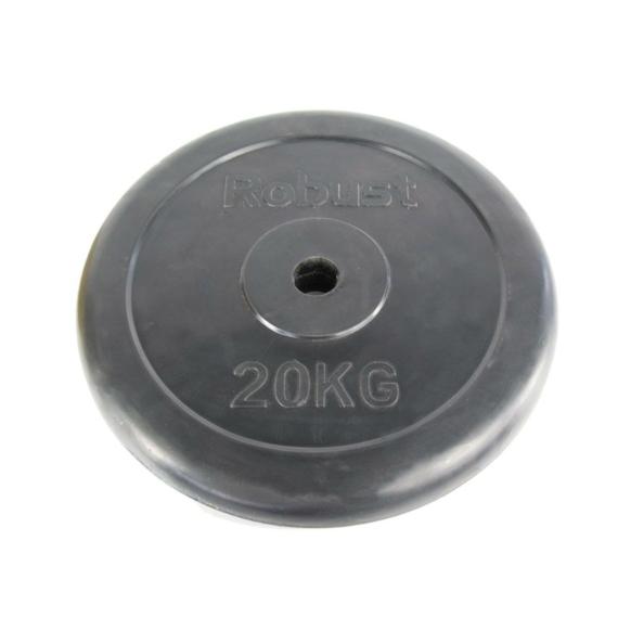 Gumis súlytárcsa 20 kg, 31mm