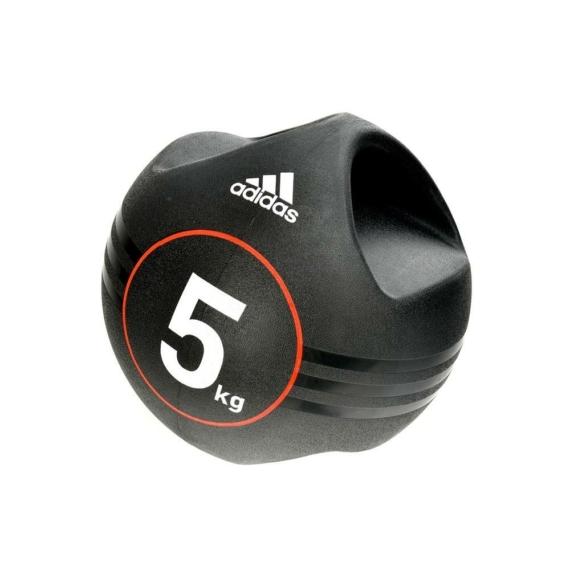 Adidas medicinlabda fogantyúval - 5 kg