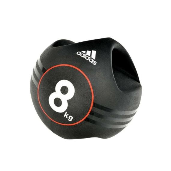 Adidas medicinlabda fogantyúval - 8 kg