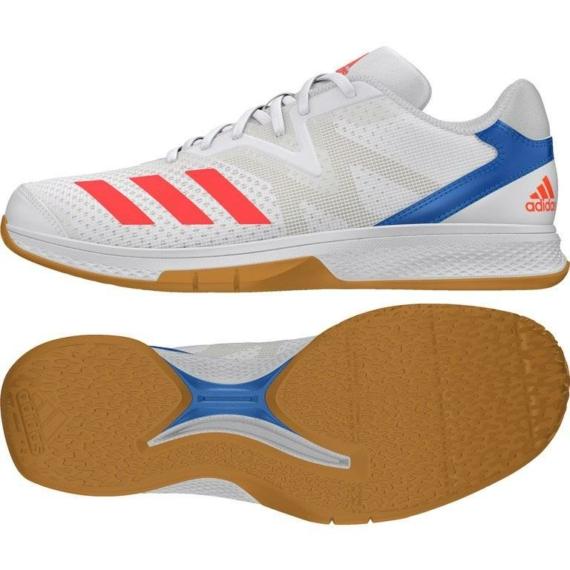 Adidas Counterblast Exadic kézilabda cipő fehér-piros
