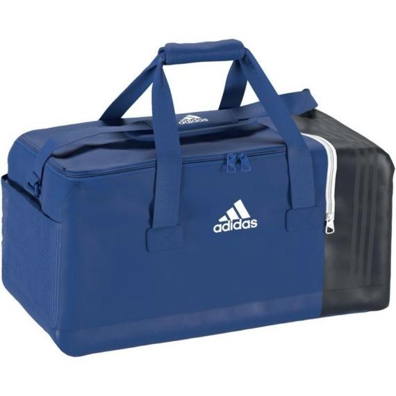 Adidas Tiro 17 sporttáska - kék-sötétkék-fehér, méret: M