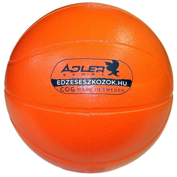 Adler Sport COG szivacs kosárlabda - narancssárga