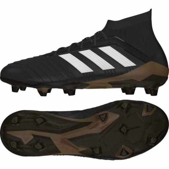 Adidas Predator 18.1 FG Férfi stoplis cipő - fekete-barna-fehér
