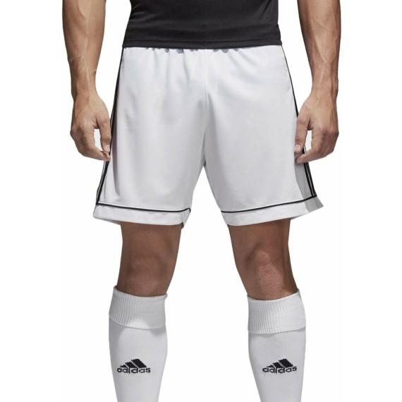 Adidas Squadra 17 rövidnadrág fehér felnőtt