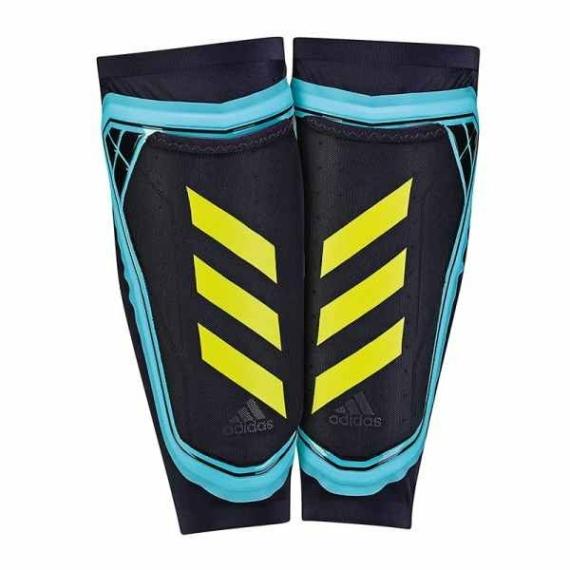 Adidas Ghost Sípcsontédő - kék-sárga-fekete