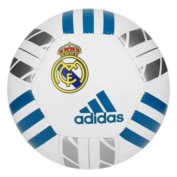 Adidas Real Madrid mini labda - fehér-kék