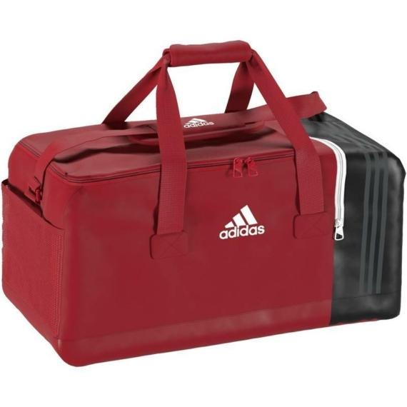 Adidas Tiro 17 sporttáska - piros-fekete-fehér, méret: L