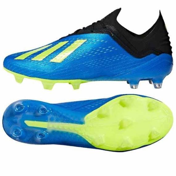 Adidas X 18.1 FG stoplis cipő - kék