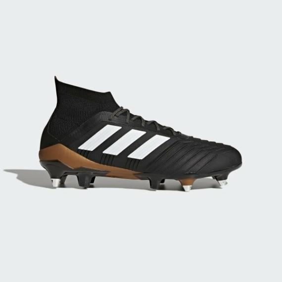Adidas Predator 18.1 SG fél éles Férfi stoplis cipő - fekete-barna-fehér