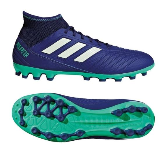 Adidas Predator 18.3 AG stoplis cipő - kék