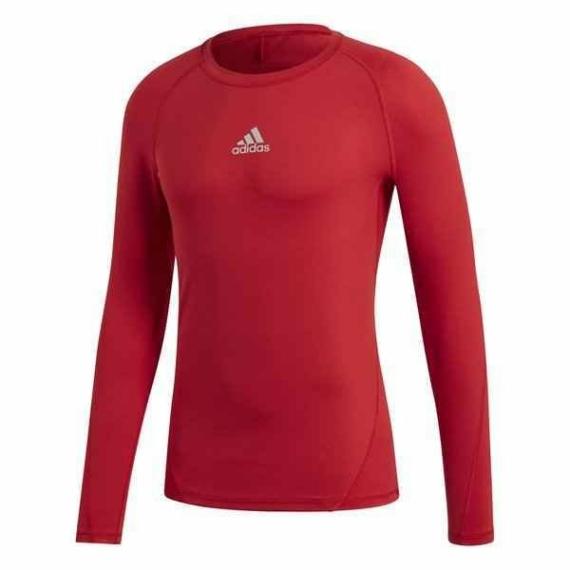 Adidas ASK hosszú ujjú aláöltözet piros Junior