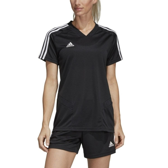 Adidas Team 19 edző mez női fekete