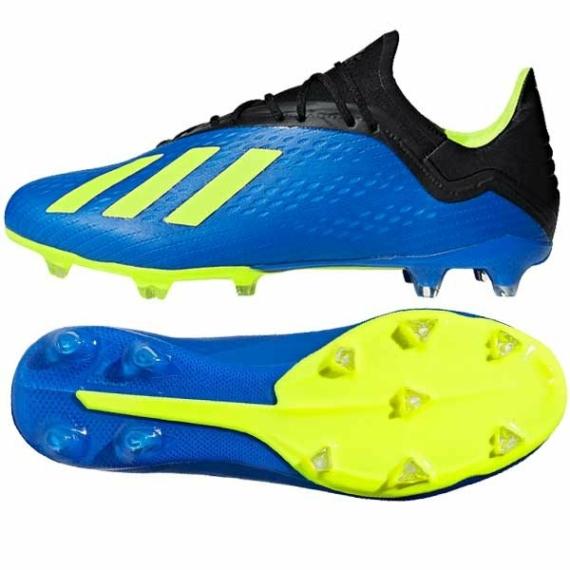 Adidas X 18.2 FG stoplis cipő - kék