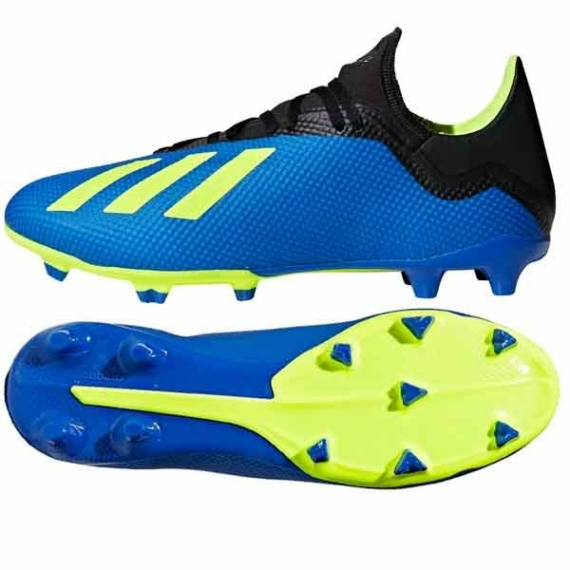 Adidas X 18.3 FG stoplis cipő - kék