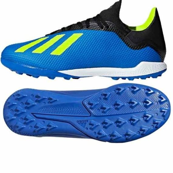 Adidas X Tango 18.3 TF műfüves cipő - kék