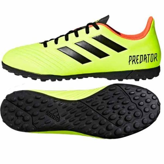 Adidas Predator Tango 18.4 TF műfüves cipő - citromsárga