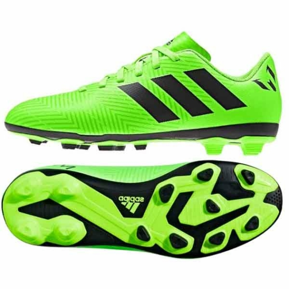 Adidas Nemeziz Messi 18.4 FxG stoplis cipő junior - zöld