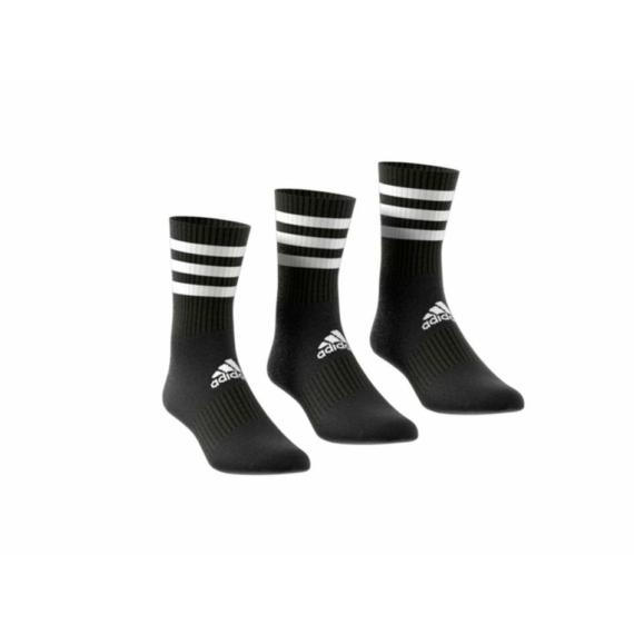 ADIDAS 3S CSH CRW 3P fekete zokni