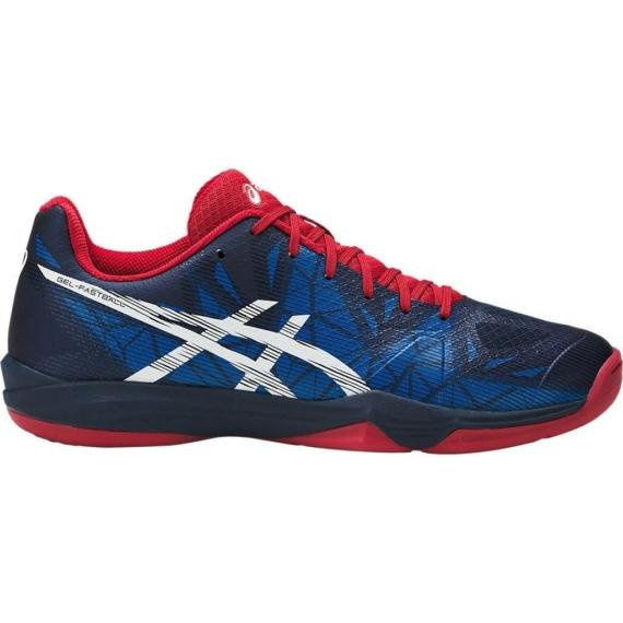 Asics Gel-Fastball 3 kézilabda cipő - kék-piros