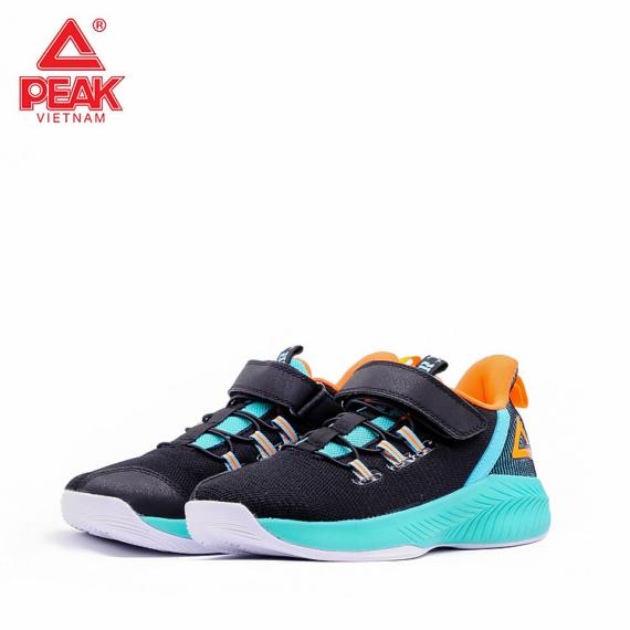 EK0211/B Peak gyerek kosárlabda cipő fekete