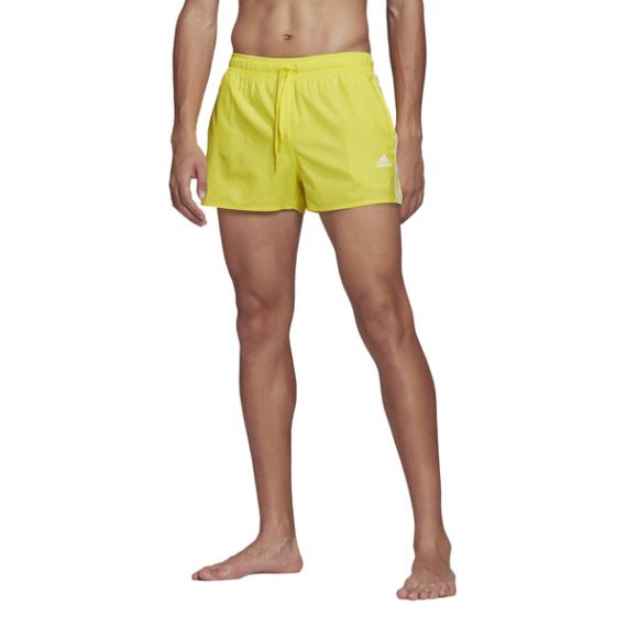 ADIDAS 3S CLX SH VSL citromsárga férfi fürdőnadrág