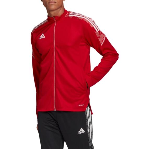 GH7124 Adidas Condivo 21 melegítő felső felnőtt piros