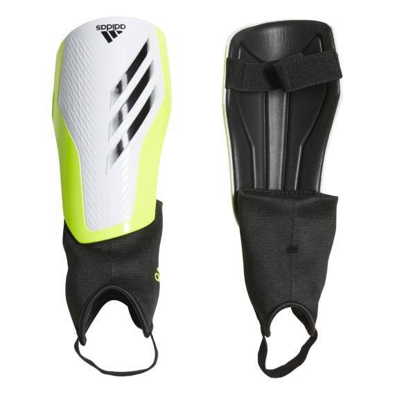 GK3526 Adidas X MTC bokavédős sípcsonvédő fehér/citrom