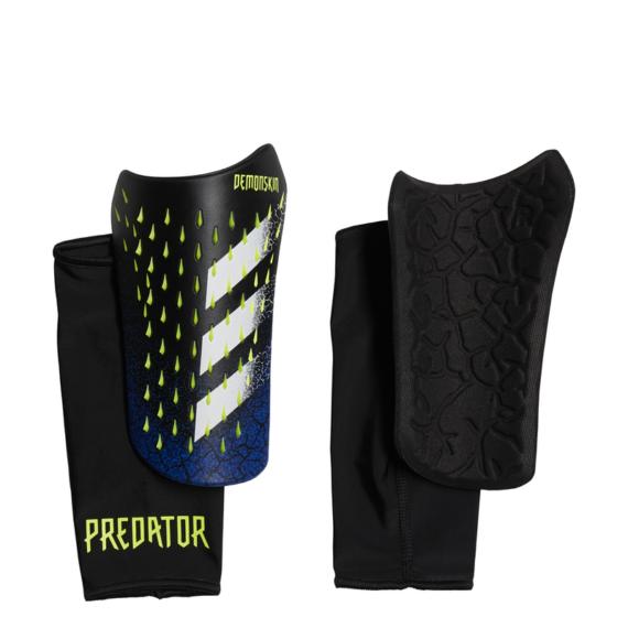 GK3545 Adidas Predator SG COM sípcsontvédő fekete/kék