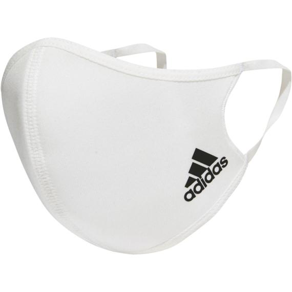 Adidas fehér maszk M/L