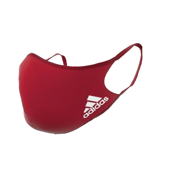 Adidas piros maszk M/L