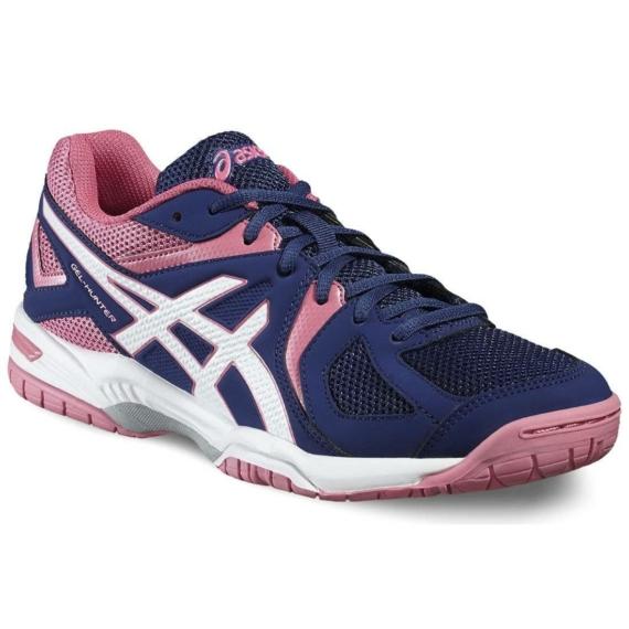 Asics Gel-Hunter 3 női kézilabda cipő - indigókék-fehér-pink