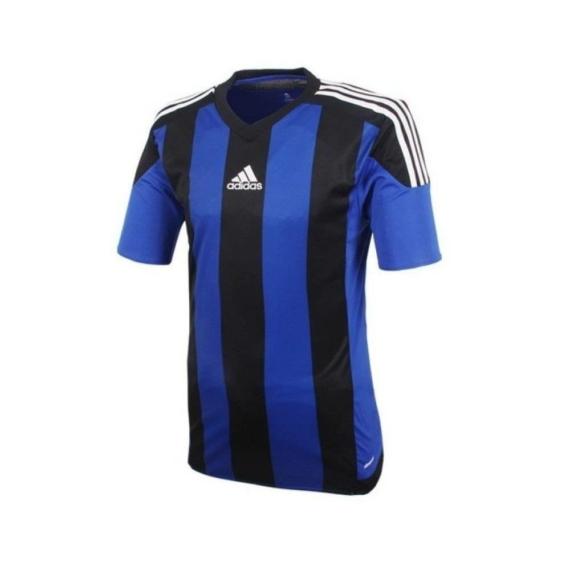 Adidas Striped 15 gyerek mez - kék-fekete