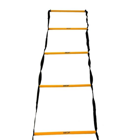 Koordinációs létra - fix, 2 m henger alakú létrafokokkal