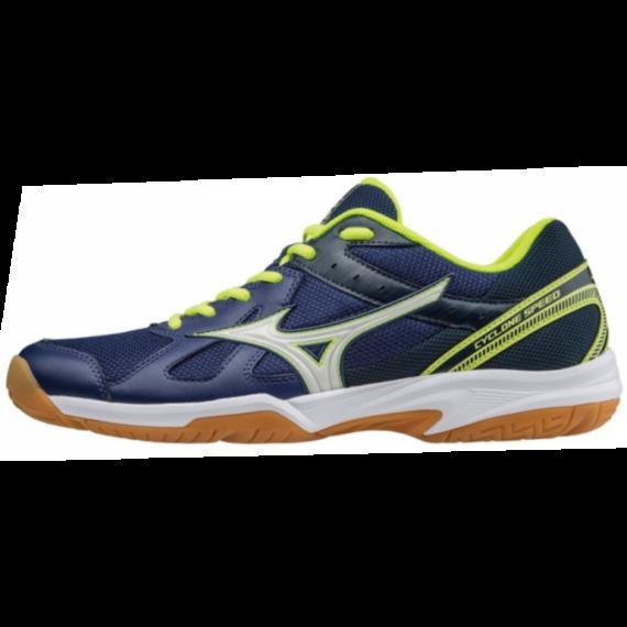 Mizuno Cyclone Speed Férfi Kézilabda cipő - kék-sárga-fehér