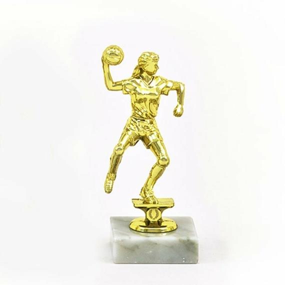 Kézilabda figura női - 13 cm magas